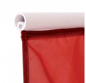 Drapeau pour mât potence à glissière - Forme verticale