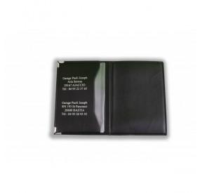 Porte-carte grise GIULIA : Cuir veiné