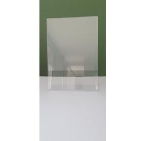 Porte-documents incliné A4 transparent