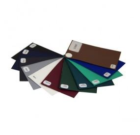 Porte-carte grise GOBI :  3 volets PVC gomme lisse