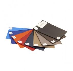 Porte-carte grise VICTOR : 3 volets PVC aspect cuir lisse