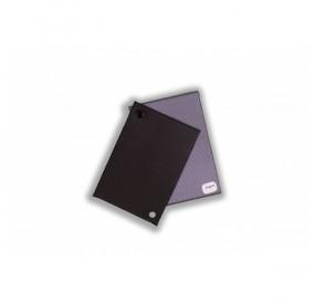 Porte-carte grise SERGé : 3 volets PVC aspect tissu sergé