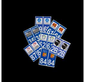 Sticker département