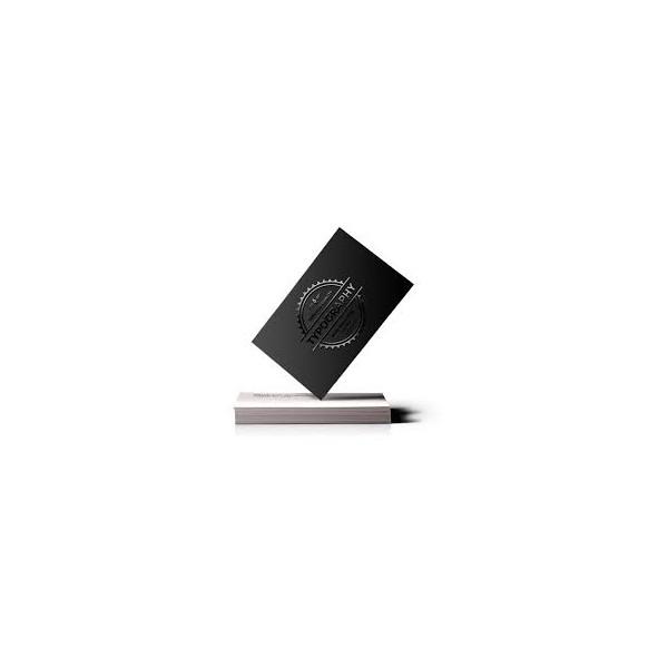 Cartes de visite Mat soft Touch + Vernis sélectif 3D