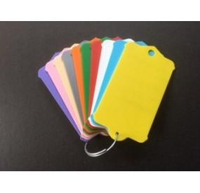 Etiquettes de clés avec anneau