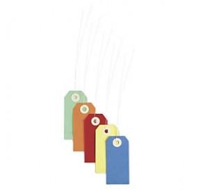 Etiquette de clés cartonnée
